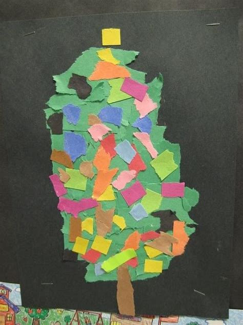 Christmas Tree Craft For Kindergarten Classroom Ideas | 1000 ideas about kindergarten christmas crafts on