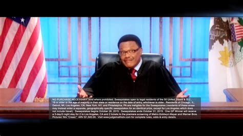 Judge Mathis Sweepstakes - quot judge mathis quot leave a legacy sweepstakes 171 cbs detroit