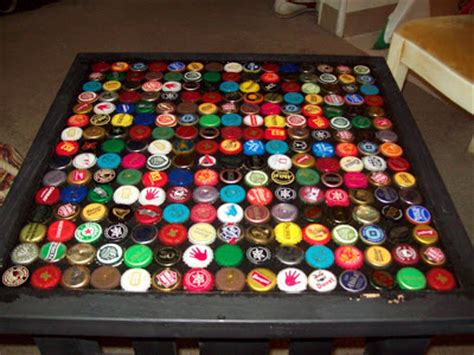 how to make a bottle cap table windfarm how to make a bottle cap table