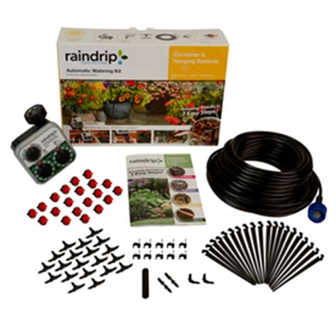 Patio Drip Irrigation System by Shop Raindrip Drip Irrigation Patio Kit At Lowes