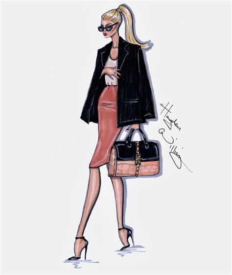 fashion illustration school hayden williams fashion illustrations style on the go