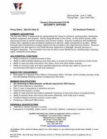 Resume Sample Security Guard by Security Skills For Resume Security Guards Companies