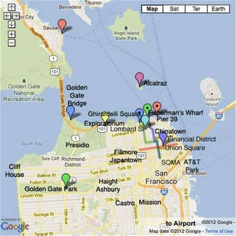 hotels in san francisco map 25 best ideas about sf hotels on san fran