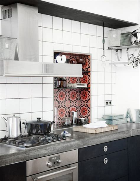 cool backsplash 35 cool and creative kitchen backsplashes shelterness