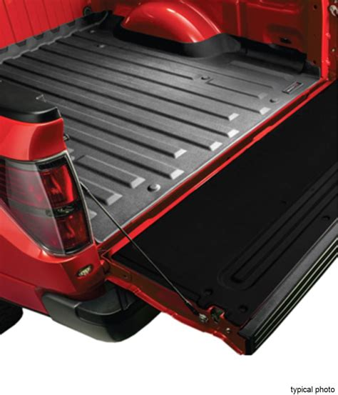truck bed mats weathertech techliner custom truck bed mat black