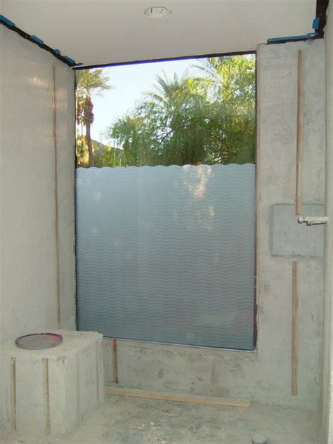 Bathroom Window Privacy Ideas Bathroom Windows Wave Pattern Frosted Glass Designs