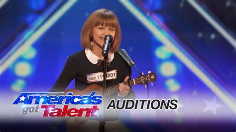 american best talent grace vanderwaal 12 year ukulele player gets golden