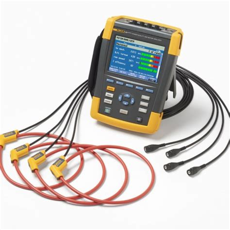 Murah Power Quality Tester fluke 438 ii power quality and motor analyzer three phase kit with 3000 flex current probes
