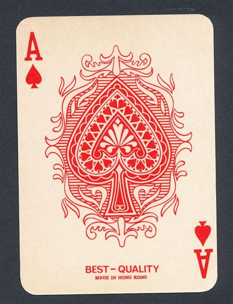 wild card tattoo color card single ace of spades 1