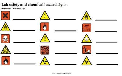 safety symbols worksheet search safety