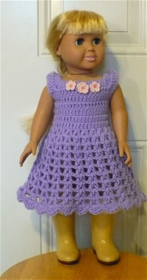 Free Vintage Crochet Doll Dress Patterns