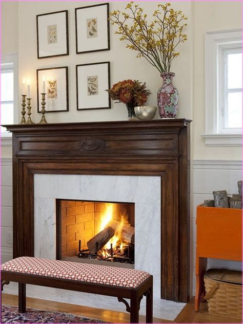 Everyday Fireplace Mantel Decorating Ideas Everyday Fireplace Mantel Decorating Ideas Home Design
