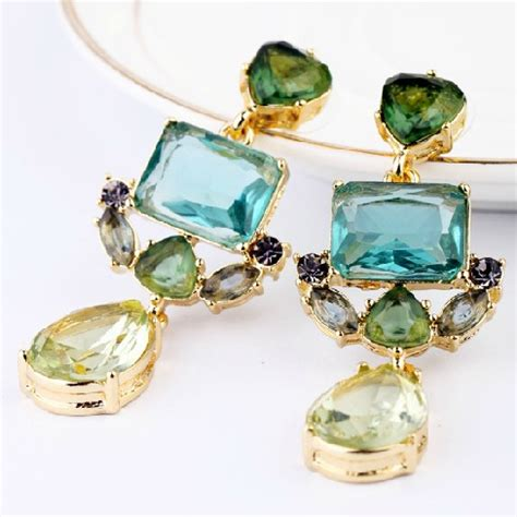 drop wholesale fashion exquisite water drop earrings for