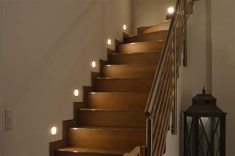 foyer unna beleuchtung treppe led wand einbau leuchte auen