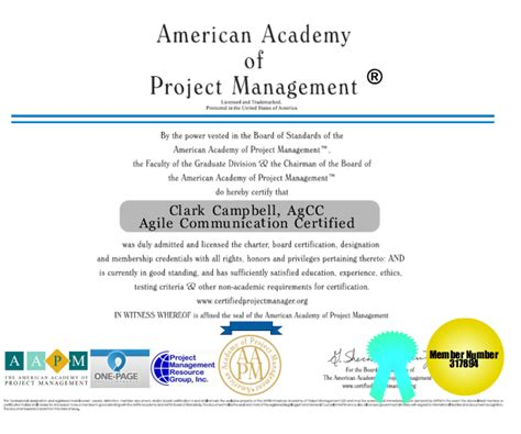 American Mba Accreditation by Agile Communications Certification Project Management Agcc