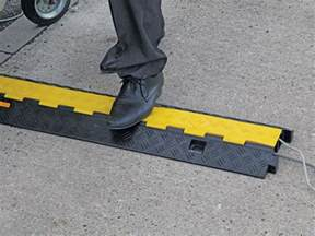 pedestrian cable cover workplace stuff