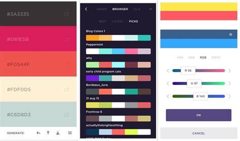 16 classic color scheme generators to the