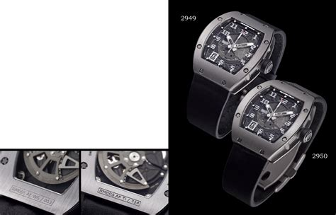 Richard Mille Date On richard mille rm005 wg white gold automatic wristwatch