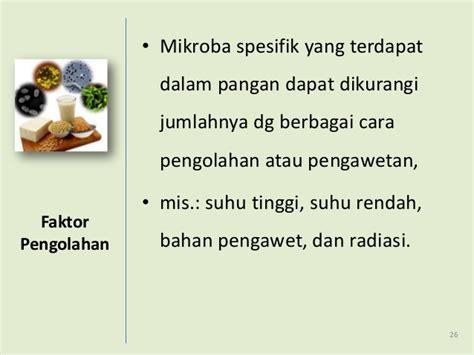 pengantar mikrobiologi pangan