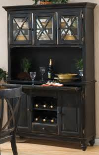 Black Distressed Cabinets Homelegance Expedition China Cabinet 715 50