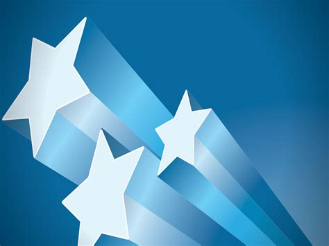 powerpoint templates free stars 3d stars powerpoint templates 3d graphics blue free
