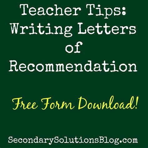 Teachers College Letter Of Recommendation Form sle college recommendation letter high school