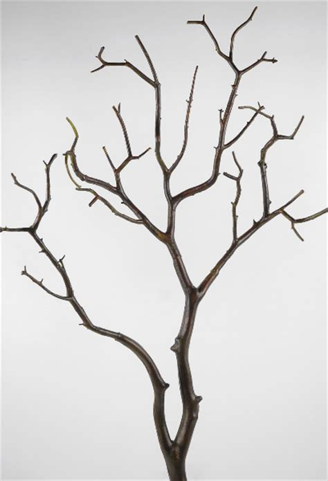 faux tree branches artificial manzanita branch dark 28in