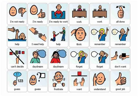 printable pecs pictures great great great resource to start pecs with students