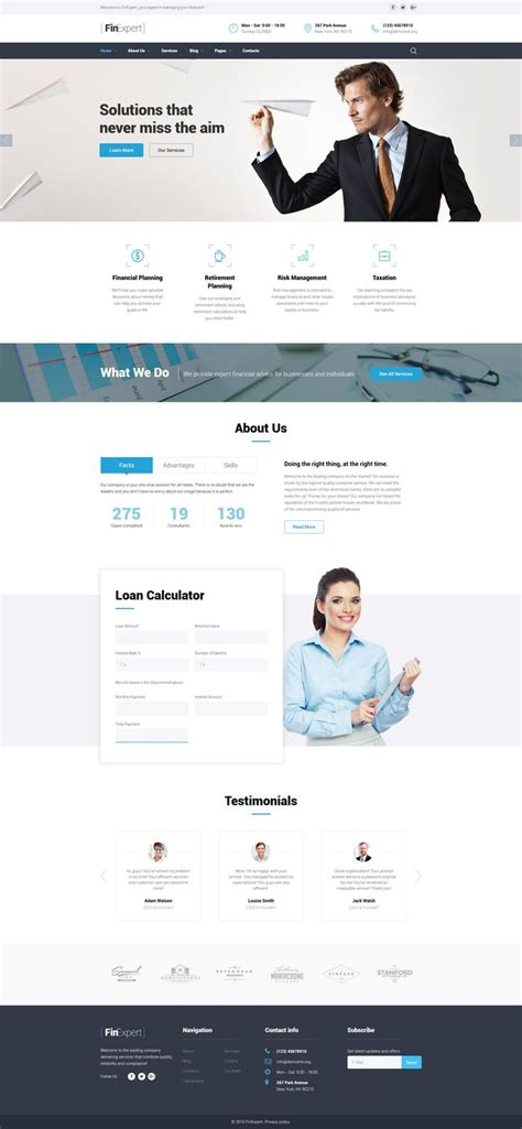 25 Best Ideas About Website Template On Pinterest Business Website Templates Simple Website Easy To Build Websites From Templates