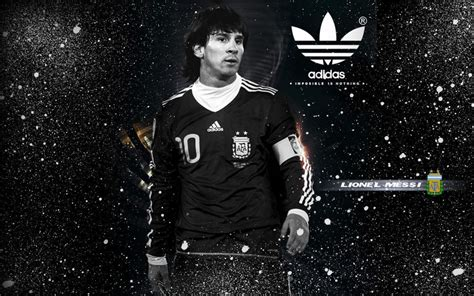 wallpaper adidas messi lionel messi for adidas monochrome wallpaper 1280 215 800