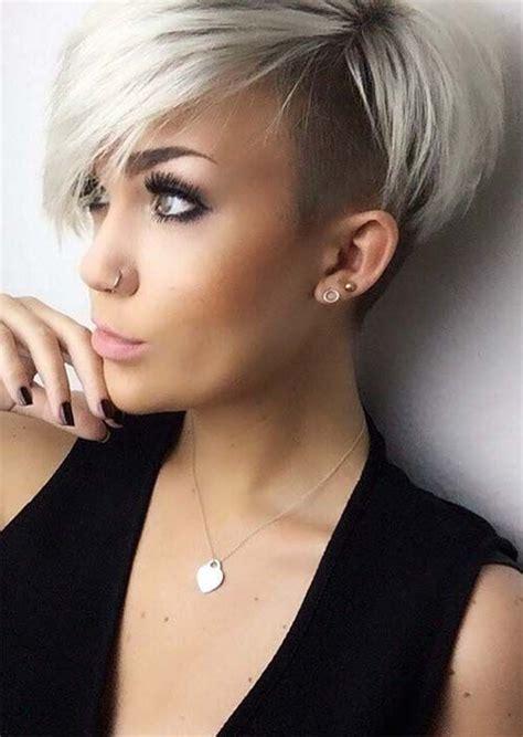edgy  rad short undercut hairstyles  women
