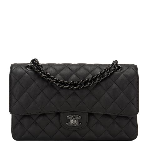 Chanel Classic Snake Co1 3 chanel so black crumpled calfskin medium classic