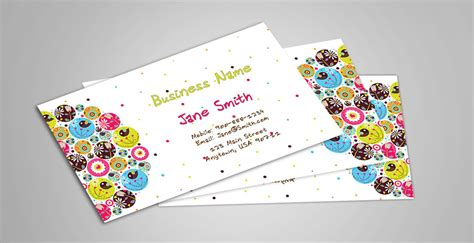 babysitting business cards template babysitting and day care business cards babyshower designs