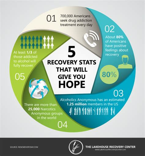 Detox Statistics by Infographic Five Recovery Statistics Lakehouse Recovery