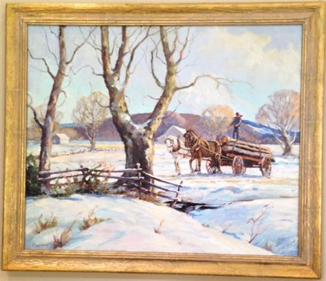 painting indiana georges la chance 1888 1964 indiana collector