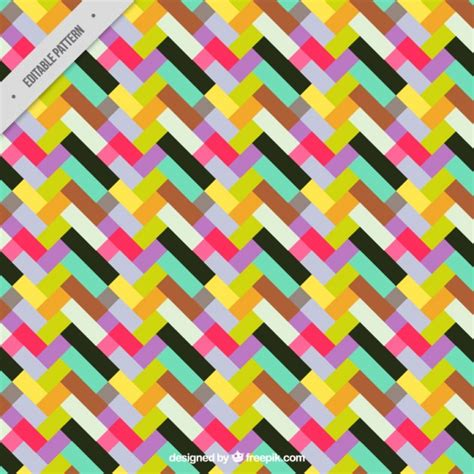pattern vector color modern bright colors geometric pattern vector free download