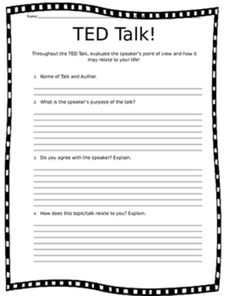 ted talk worksheet answers the 25 best ted speech ideas on ted speakers inspirational ted talks and