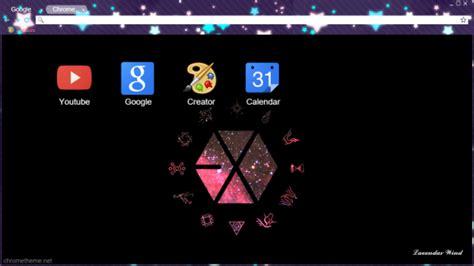 themes chrome exo exo logo and superpowers theme chrome theme themebeta