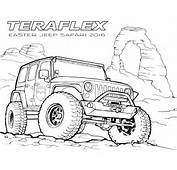 Gallery TeraFlex Jeep Coloring Pages