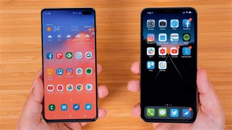 samsung s new galaxy s10 vs apple s iphone xs max macrumors