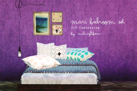 my sims 3 blog boston bedroom set by mango sims my sims 3 blog ts2 to ts3 mari bedroom set by midnightbean