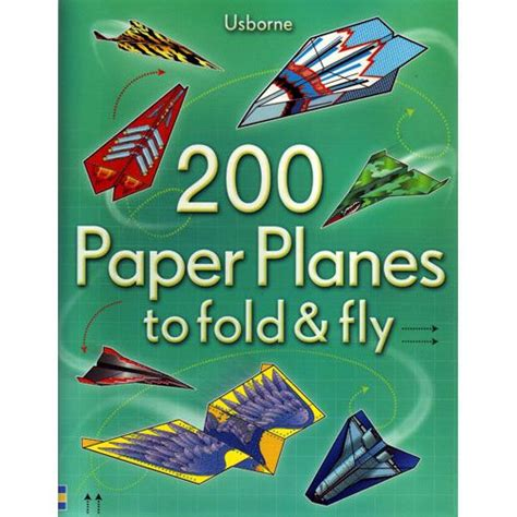 Fold And Fly Paper Planes - 200 paper planes to fold and fly by xump
