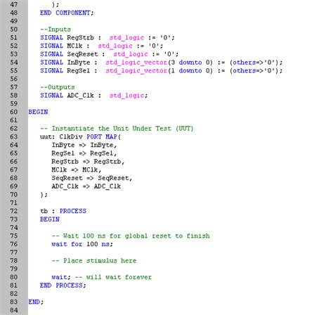 how to write test bench for vhdl code how to write test bench for vhdl code 28 images vhdl