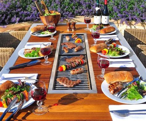bbq grill picnic table best 25 grill table ideas on bbq table grill