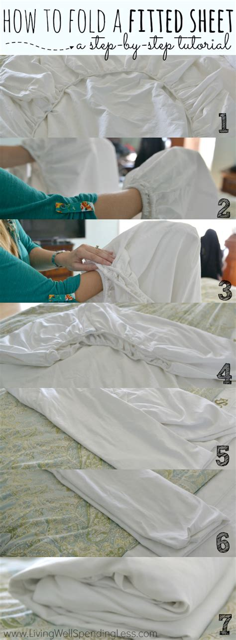 how to fold a fitted bed sheet how to fold a fitted sheet living well spending less 174