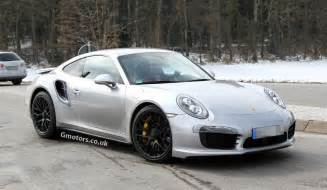 Porsche 911 Turbo 2014 Spyshots 2014 Porsche 911 Turbo Spotted With No