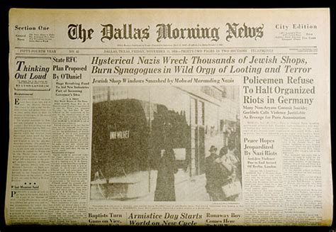 obituary headlines the dallas morning news ushmm artifact gallery dallas morning news coverage of