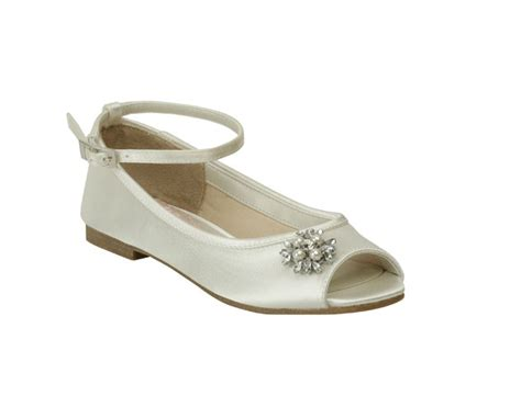 dyeable flower shoes flower by pink paradox bridesmaid flowergirl shoes sale