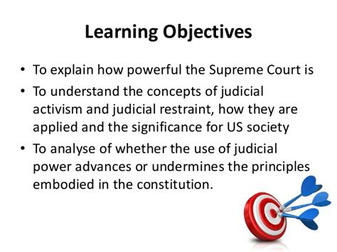 exle of judicial restraint what judicial power does the supreme court and how has it been u
