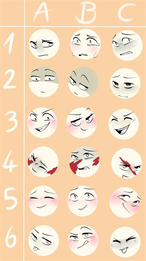 Meme Expression Faces - expressions meme challenge by firefoxgirl96 on deviantart